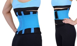 Unisex Ultra Woekout Supportive Exo-Belt - Blue