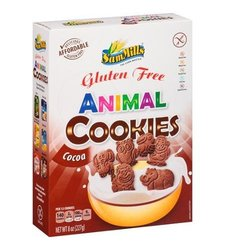 Sam Mills Gluten Free Cocoa Animal Cookies - 8 oz