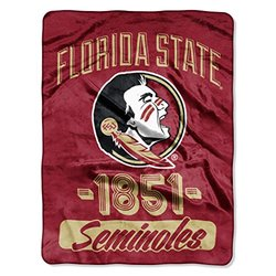 Northwest NCAA Florida State Microfiber Throw Blanket