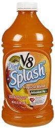 V8 Splash Diet Tropical Blend - 64 oz