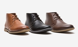 Oak & Rush Men's Pu Chukka Boot Jr065a - Black - Size: 11