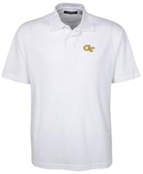 Oxford Golf NCAA Georgia Tech Men's Classic Pique Polo - White - Size: XXL