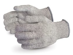 12 Pack Superior Men's Raggwool Knit Winter Glove - Beige - Size: Large
