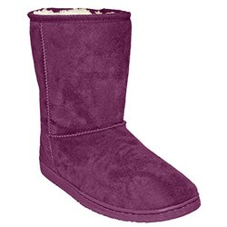 Dawgs Women's 9 Inch Microfiber Boots - Plum - Size: 8