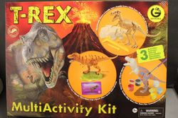 Geoworld Boy's T Rex Multi Activity Kit with 3 Models