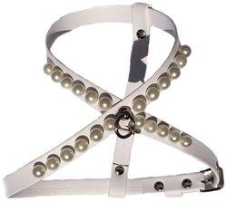 Charlotte's Dress Harness - White - Size: Medium