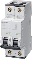 Siemens 5SY65107 Supplementary Protector 25 Amp Tripping Characteristic C