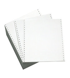"Office Depot  9.5""x11"" Perforation Paper #20 - White - Box of 2300 Sheets"