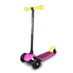 YBIKE GLX 3-Wheeled Scooter Pink