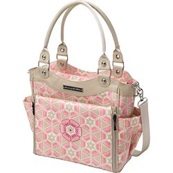 Petunia Pickle Bottom City Carryall Diaper Bag - Pink - Size: One Size
