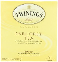 6 Pack Twinings of London Classics Earl Grey Tea - 50 Count