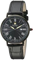 Steinhausen Men's Dunn Horizon Ultra Thin Swiss Quartz Watch: Red Crystal
