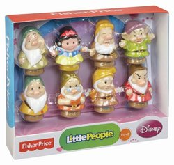 Fisher-Price Little People Disney Snow White and The Seven Dwarfs Toy