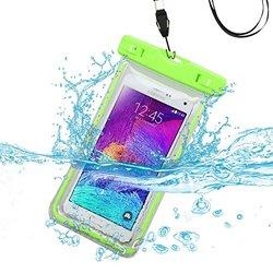Apple Green Waterproof Bag Lanyard Pouch