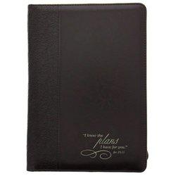 Luxleather New NoteBooks Folder - Jer 29:11