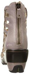 Jambu Women's Brookline Wedge Sandal, Champagne, 10 M US