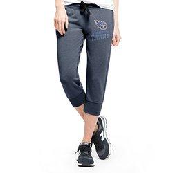 NFL Tennessee Titans Women's '47 Stride Capri Pants - Navy - Size: L