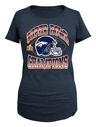 5th & Ocean NFL Women's Super Bowl Champs Scoop Neck Tee - Blue - Size: XL