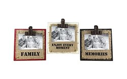 "Young's 3 Piece Wood Picture Frame Set, 4"" by 6"""