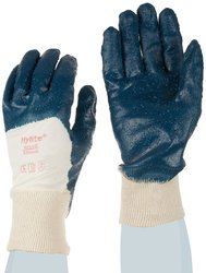 Ansell Hylite Nitrile Gloves - Blue - Size: Small - 12 Pairs