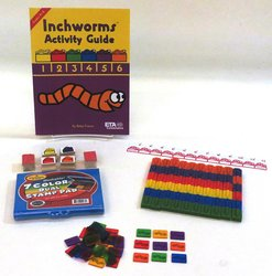 ETA Hand2mind Inchworms Measurement Activity Set