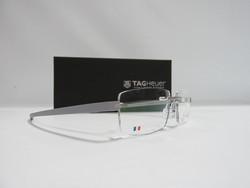 TAG Heuer Unisex Optical Frames - Grey - Size: 56mm