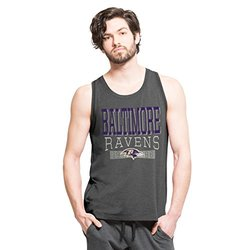 NFL Baltimore Ravens Men's '47 Forward High Point Tank Top, Shift Black, Small