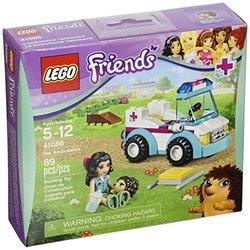 Lego Friends Vet Ambulance with Emma Mini Doll