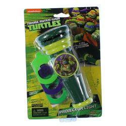 Nickelodeon Teenage Mutant Ninja Turtles Flashlight Projector Light