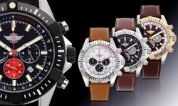 Zentler Freres Ravenmocker Chronograph Men's Watch: B