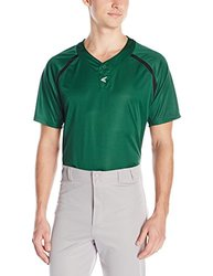 Easton Men's M7 Two Button Homeplate Jersey, Green/Black, Medium