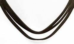 Steeltime Women's Black Velvet Chokers - Classic