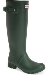 Hunter Women's Rain Boots - Tour/Green - Size: 5