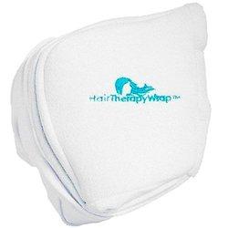Hair Therapy Cordless Thermal Turban Heat Wrap - White