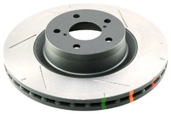 DBA 4000 Series Slotted Front Left-Hand Disc Brake Rotor (DBA42058SL)