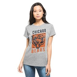 NFL Chicago Bears Women's '47 Hero Tee - Vintage Grey - Size: XL