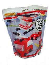 Best-Lock Fire Safety Building Construction Toy Set - 120-Piece