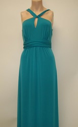 Amsale Bridesmaids Dress - Teal - Size: 6