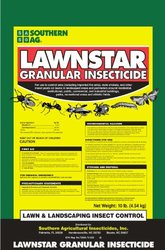 Southern Ag Lawnstar Granular Insecticide with Bifenthrin - 10 Pound Bag