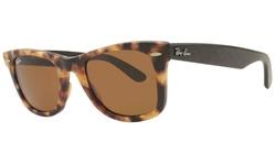 Ray Ban Unisex RB2140F Tortoise - Brown Lens Sunglasses