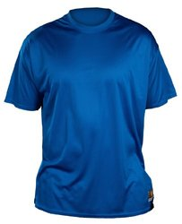 Louisville Slugger Adult Slugger Loose Fit Short Sleeve Shirt Royal blue