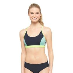 Champion Women's Sport Adjustable Bikini Top - Black - Size: Large