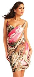 Saress Cross Over Beach Cover Up - Palm Beach - Medium