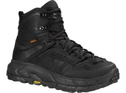 Hoka One One Men's Tor Ultra Hi WP Hiking Boot Sneaker Shoe, Black, 9