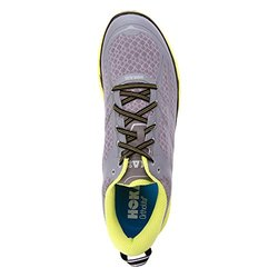 Hoka One One Men's Clifton 2 Running Shoes Grey/Acid 10.5 D(M) US