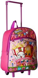 "Shopkins Girl's 12"" Rolling Backpack - Pink"