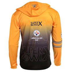 NFL Pittsburgh Steelers Super Bowl X Champions Hoody Tee, Small