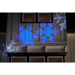 LightShow 37297 White Snowflake Projection Spotlight Stake