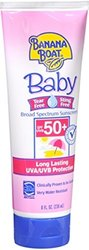 Banana Boat 8oz. Baby Tear Free Sunscreen Lotion SPF 50 - Pack of 11