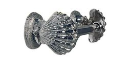 Home Accents Seashell Decorative Toilet Tissue Holder - Chrome